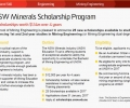 UNSW 2017 School of Mining Engineering Scholarships
